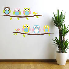 Owls On Branch Sticker Removable Decal Kids Room Vinyl Wall Deca Self Expressions Decals More