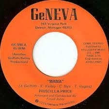Priscilla Price - Mama (Vinyl) | Discogs