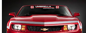 Umbrella Corporation Sticker Decal Aufkl Buy Online In Bahamas At Desertcart