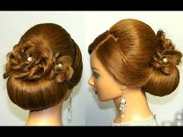 bridal hairstyle for long hair updo