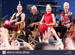 Adrian Young, Tony Kanal, Gwen Stefani and Tom Dumont No Doubt ...