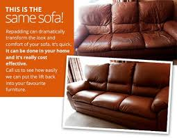 edinburgh leather and fabric sofa re