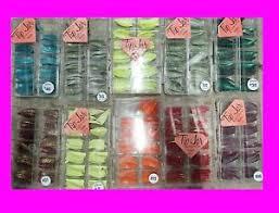 usa lot 4 tip jar cases 400 nail tips