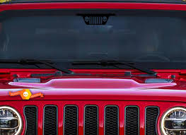Product Jeep Wrangler Windshield Grille Logo Skull Decal Sticker Grill