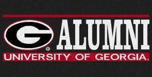 Uga Georgia Bulldogs Alumni Decal Sticker The Red Zone Athens Ga