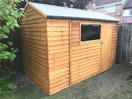 10ft x 6ft plastic shed base customer