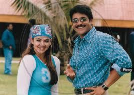 Image of Telugu Film Actor Akkineni Nagarjuna And Actress Aarthi ...