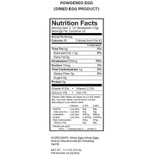 wise food 144 servings of powdered eggs