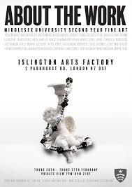 Past Exhibitions at Islington Arts Factory