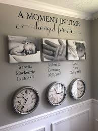 Amazon Com Celycasy A Moment In Time Changed Forever Photo Picture Wall Vinyl Wall Decal Sticker Lettering With Names And Dates Custom Hh2147 Home Kitchen