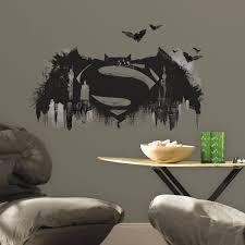 Batman Vs Superman Logo Giant Wall Decal