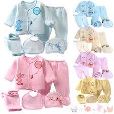 newborn baby boys s 5pcs set