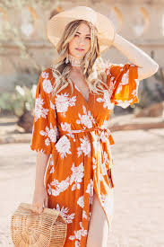 dash of darling orange rue stiic dress