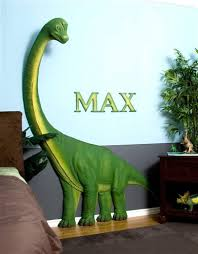 Beetling Brachiosaurus Dinosaur 3d Wall Art Decor Dinosaur Room Decor Dinosaur Theme Bedroom Art Wall Kids