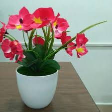 artificial flower vase at rs 95 piece