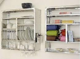 wall mounted steel plate rack