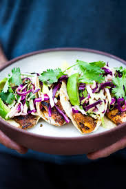 grilled fish tacos with cilantro lime