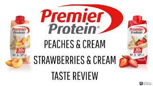premier protein shakes peaches