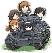 Amazon Com Girls Und Panzer Anime Car Window Bike Decal Sticker 001 7 8 8 Automotive