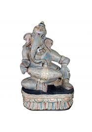 ganesh in wood the deity the indian