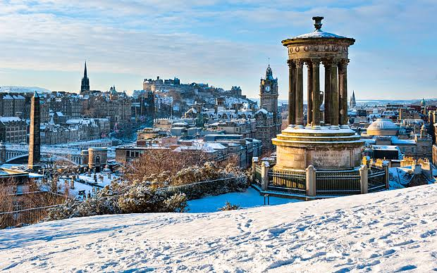 Passpod, Edinburgh, Eropa