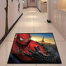 Carpet Personality Living Room Bedroom Corridor Cartoon Anime Spiderman Non Slip Rugs Rectangular Boy Child Floor Mat 120cm 160cm Jsmhh Size 80cm 120cm Buy Online At Best Price In Uae Amazon Ae