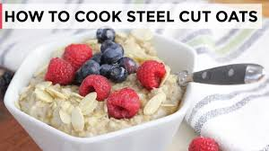 how to cook steel cut oats 3 ways
