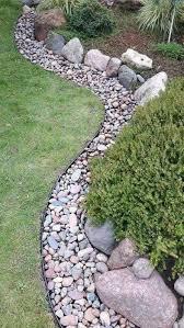 rock garden edging plants rocks for