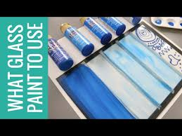 what glass paint to use when painting