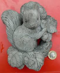 plaque stone garden ornament hand cast