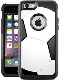 Amazon Com Teleskins Protective Designer Vinyl Skin Decals Compatible With Otterbox Commuter Iphone 6 6s Case Cover Soccer Design Pattern Only Skins And Not Case