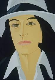 Alex Katz | Ada in White Hat (from Alex & Ada portfolio) (1990 ...