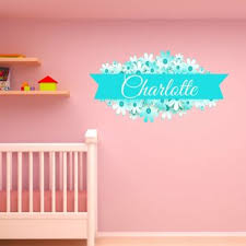 Baby Name Wall Decals Wayfair