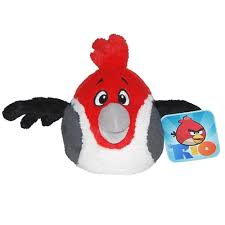 Angry Birds RIO 5-Inch Red Bird with Sound - For Moms