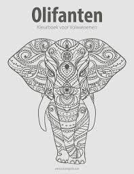 Olifanten Kleurboek Voor Volwassenen 1