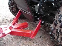 trends car homemade atv snow plow
