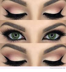 beautiful makeup for green eyes so