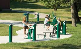 outdoor fitness system