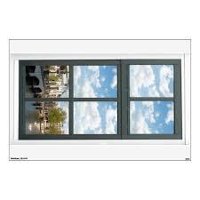 Amsterdam Canal House Cityscape Fake Window View Wall Sticker Zazzle Com