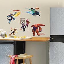 Roommates Big Hero 6 Peel And Stick Wall Decals Amazon Com