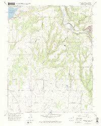 USGS 1:24000-scale Quadrangle for Dolores West, CO 1965 - Data.gov