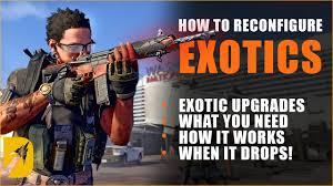 reconfigure exotics le update 9