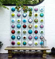 decorating outdoor walls with art