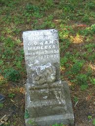 Ada M. Harless (1890 - 1895) - Find A Grave Photos   Find a grave, Grave  marker, Grave