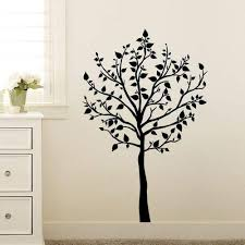 Amazon Com Dcwv Home Peel And Stick Wall Art Tree With Leaves Home Kitchen
