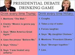 Debate drinking game : Conservative