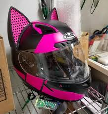 50 Coolest Cat Ear Motorcycle Helmets Helmet Upgrades