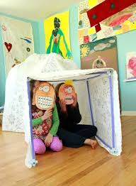 Building An Igloo With The Fort Magic Fort Kit For Kids