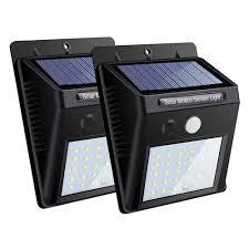 light led solar lamp motion sensor