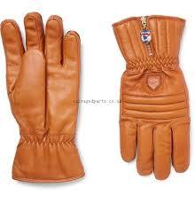 hestra swisswool leather ski gloves